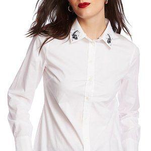 Candice Collar Button-Up